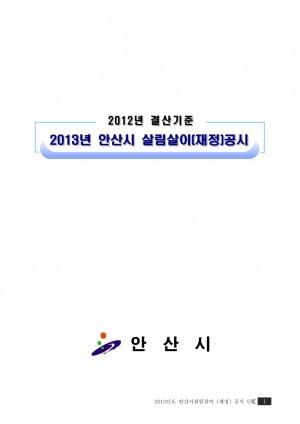 지방재정공시(2013)