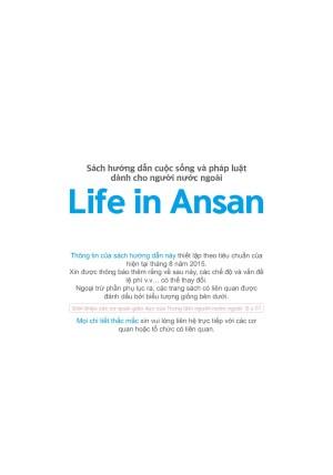 Life in Ansan(베트남어)